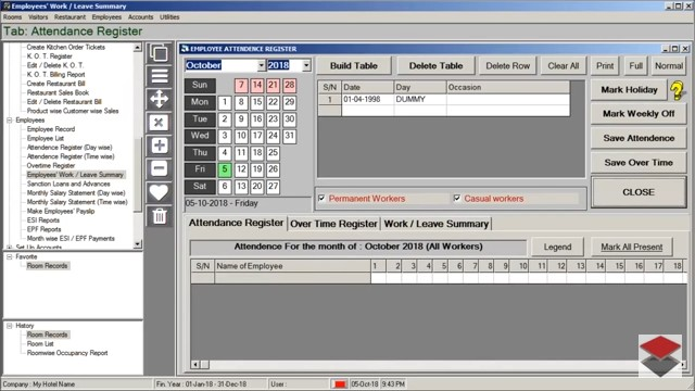 Accounting Software for Hotel, HiTech Hotel Manager